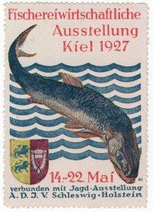 (I.B) Germany Cinderella : Fishing Industry Exhibition (Kiel 1927)