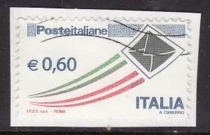 Italy #2941 F-VF used (on paper) Envelope