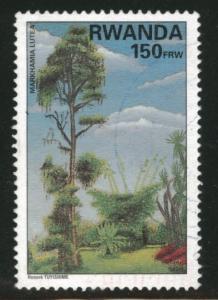 RWANDA Scott 1391 Used stamp 1998