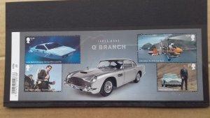 Great Britain 2020 James Bond - Q Branch Mint