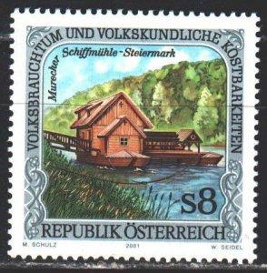Austria. 2001. 2338. Styrian Water Mill. MNH.