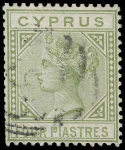 Cyprus Scott 14 Gibbons 14 Used Stamp