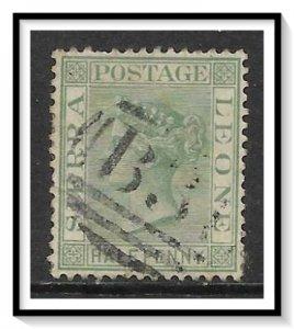 Sierra Leone #22 Queen Victoria Used