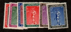 Luxembourg Scott B79-84 Mint NH (Catalog Value $17.50)