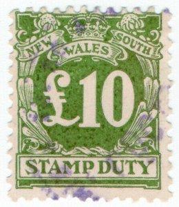Australia - NSW Revenue - Stamp Duty £10