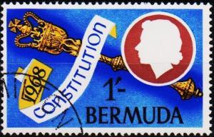 Bermuda. 1968  1s  S.G.217  Fine Used