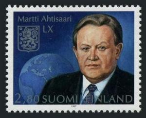 Finland 1048,MNH.Michel 1391. President Marti Ahtisaari,60th birthday,1997.