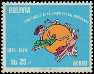 Bolivia #C358, Complete Set, Never Hinged