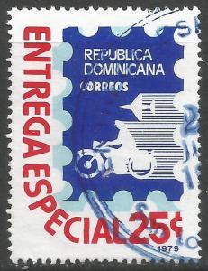 DOMINICAN REPUBLIC E11 VFU O106-2