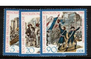 East Germany (DDR) - small collection mint sets, CV +84£ (approx $108)