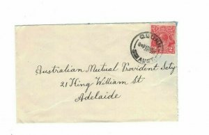APH1451) Australia 1931 2d Red KGV Die I Small Cover