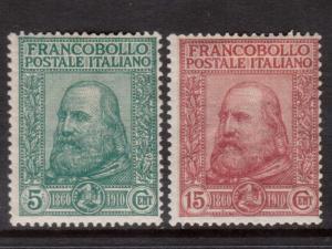 Italy #115 - #116 Mint
