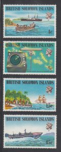 Solomon Islands Scott #268-271 MNH