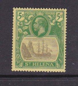 St Helena 1922 KGV SG 110 ( gum crease) MH