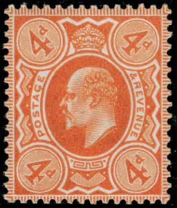 SG240 SPEC M25(2), 4d pale orange, NH MINT. Cat £45.