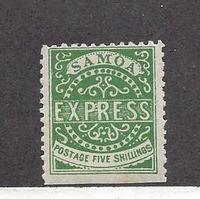 Samoa, 8a, Issue of the kingdom Type IV Re-Print Single, MNH