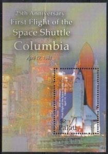 PALAU SHEET SPACE SHUTTLE COLUMBIA