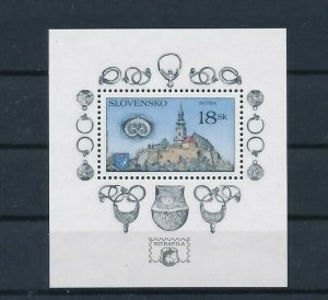 D151307 Slovakia S/S MNH Buildings Architecture Nitra
