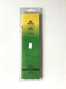 25pcs PRINZ Standard Stamp Strip Mounts Pre Cut Strips (49 x 210mm)