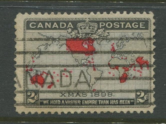 Canada - Scott 85 - QV Definitive Issue - 1898 - Used - Single 2c Stamp