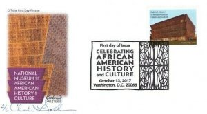 Goodman's Art Cachet 5251 African American History and Culture Washington DC