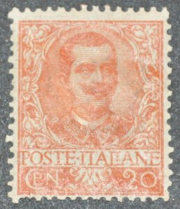 DYNAMITE Stamps: Italy Scott #80 – MINT hr