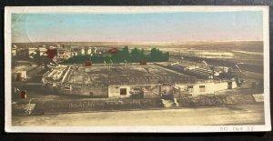 1915 Cairo Egypt On Active Service Picture Postcard cover To Victoria Australia