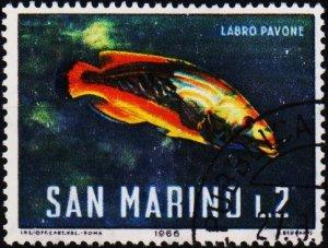 San Marino. 1966 2L S.G.805 Fine Used