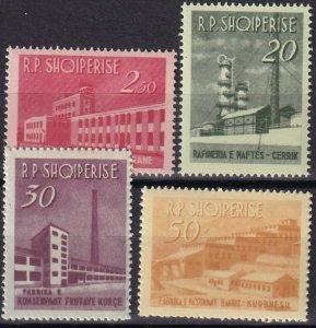 Albania #697-700  MNH CV $22.40  (Z8020)