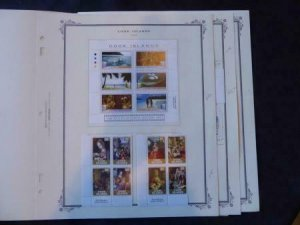 Cook Islands 1994-1996 Mint Stamp Collection on Scott Specialty Album Pages