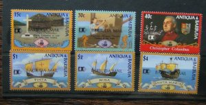 Barbuda 1992 500th Anniversary of Discovery of America by Columbus 5th Issue MNH