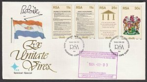 SOUTH AFRICA 1984 Constitution FDC signed by PM  P.W. Botha ................L689