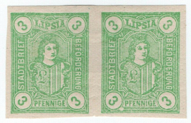(I.B-CK) Germany Local Post : Leipzig 3pf (Lipsia) proof