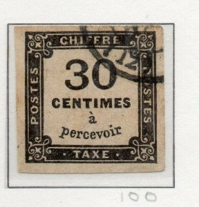 France 1859-78 Postage Due Issue Fine Used 30c. 313304