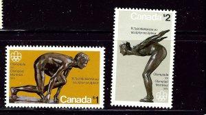 Canada 656-57 MNH 1975 Olympics