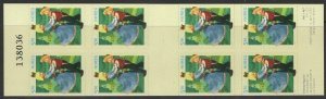 NORWAY SGSB133 2002 FAIRYTALE CHARACTERS BOOKLET MNH