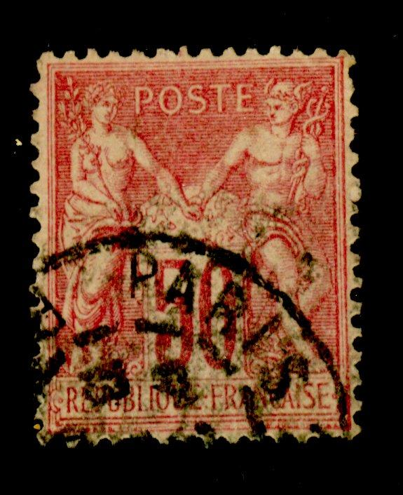 France #107 Used F-VF Cat$40