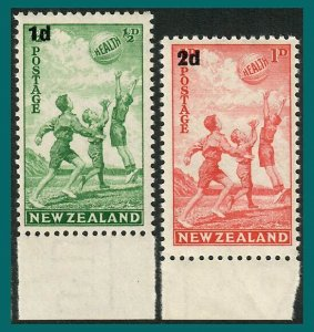 New Zealand 1939 Health, Beachball, MNH #B14-B15,SG611-SG612