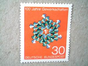 1968  Germany  #991  MNH