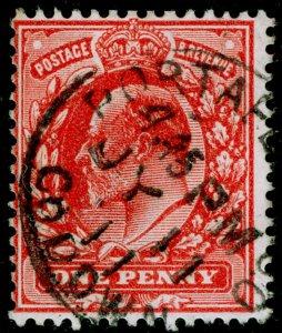 SG272 SPEC M6(1), 1d rose-red, FINE USED, CDS. Cat £12.