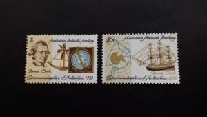 Australian Antarctic 1972 Bicentennial of Cook's Circumnavigation Mint