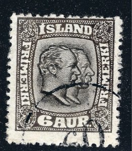 Iceland Attractive Sc#103 Perf 14 Used Fine SCV $150...Key bargain!!