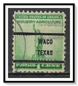 US Precancel #899-71 Waco TX Used