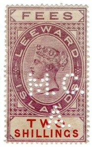 (I.B) Leeward Islands Revenue : Magistrates Court 2/- (Antigua District A)