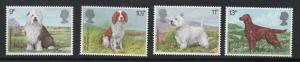 Great Britain Sc 851-54 1979 British Dogs stamp set mint NH