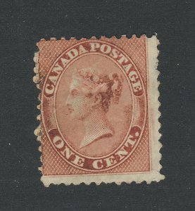 Canada Queen Victoria MNG Stamp #14b-1c Deep Rose MNG VG/F HR GV= $200.00