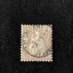 Switzerland 59 F-VF, CV 72.50