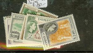 DOMINICA (P2012B) QEII  SG140-158  MOG