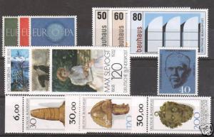 Germany Sc 818/1389 MNH. 1960-83, 5 cplt sets VF   4;9