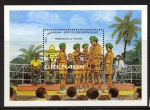 Grenada 1092 MNH Scouts